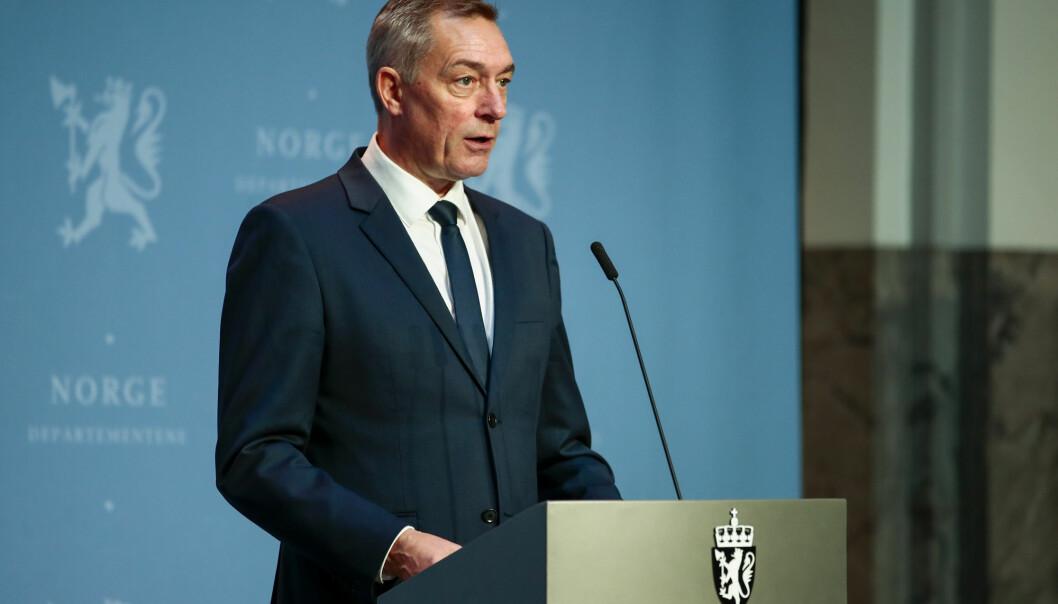 Frank Bakke-Jensen la 16. oktober frem nytt forslag til langtidsplan.