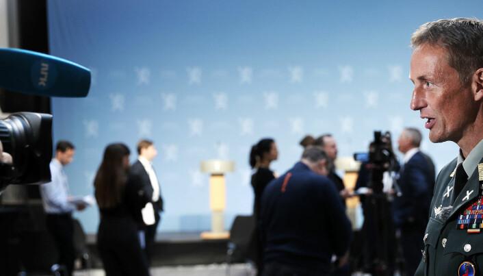 Kristoffersens konkrete klage: Vil ha langtrekkende presisjonsvåpen