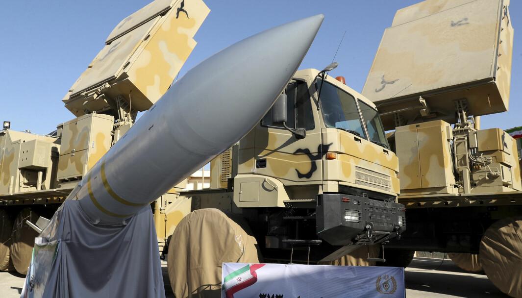 I 2019 viste Iran frem et nytt luftvernmissil.