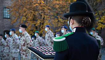 Soldatene fikk ikke «leave» på grunn av korona-restriksjoner.