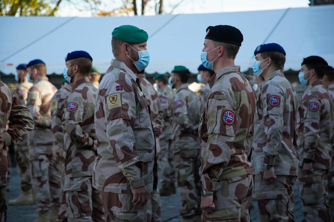 16. oktober ble Telemark bataljon hedret for innsatsen i Irak.