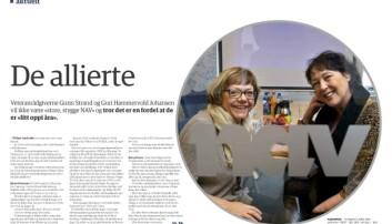 Faksimile fra Forsvarets forum nr. 5, 2014.