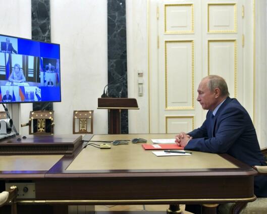 Russland tilbyr seg å fryse antall atomstridshoder i ett år