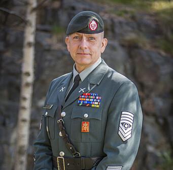 Rune Wenneberg vil slutte som Hærens sjefssersjant