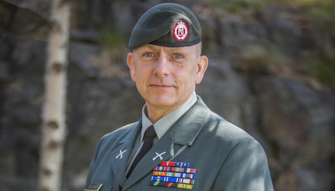 GIVENDE: Rune Wenneberg forteller at jobben som sjefssersjant har vært både den mest givende og krevende jobben han har hatt i Forsvaret.