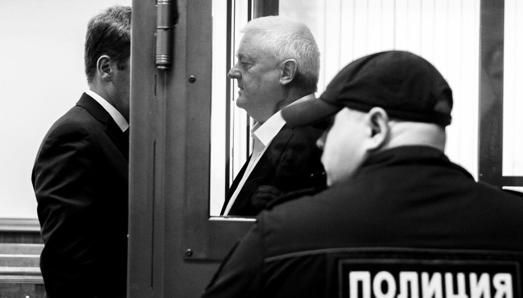 HEMMELIG: EOS-utvalgets rapport om Frode Berg-saken er hemmeligholdt. Det er det gode grunner til, skriver forsvarsminister Frank Bakke-Jensen. Her ser vi Frode Berg i forkant av at han blir dømt til fengsel i Russland.