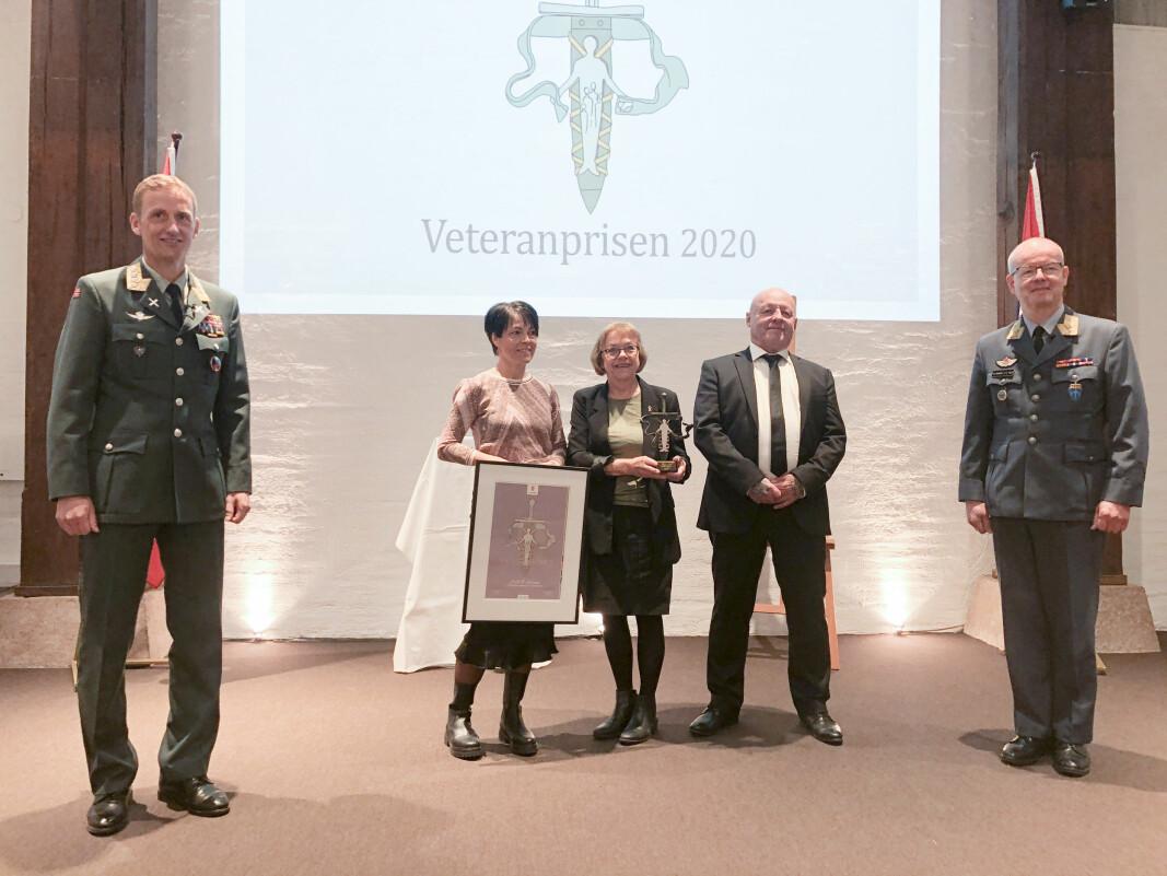 Årets veteranpris gikk til NAV Elverum.