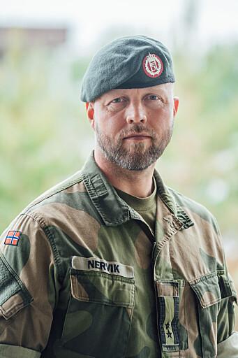 Kommunikasjonssjef i Hæren, oberstløytnant Erling Nervik.