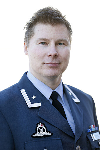 Major Stian Roen er talsperson i Luftforsvaret.