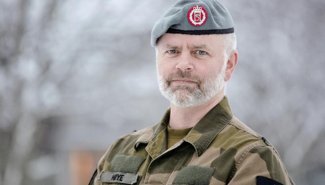 Sjef for HV-17, oberstløytnant Stein Høye, har besluttet å trappe ned på øvelser med bakgrunn i smittesituasjonen.
