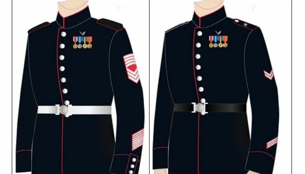 Dagens messeuniformer i Hærens har mange variasjoner. Nå vil uniforms- og tradisjonsutvalget skape en felles hæridentitet. Dette skjermbildet er hentet fra uniformsbestemmelsene fra 2016.
