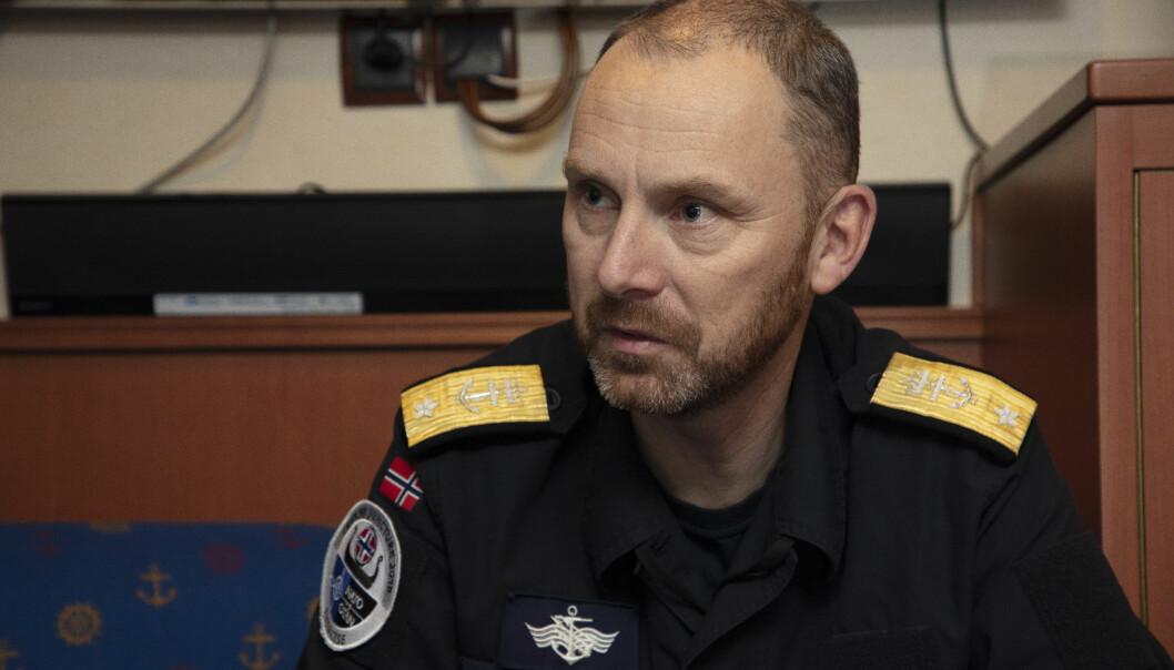 Rune Andersen er utnevnt til ny sjef for Sjøforsvaret og blir samtidig kontreadmiral.