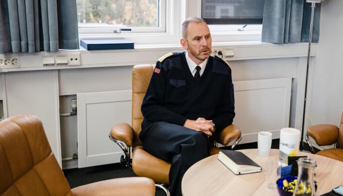 – Etter Ingstad-ulykken har vi ikke hatt nedgang i seilingsdøgn for fregattene, sier Rune Andersen.
