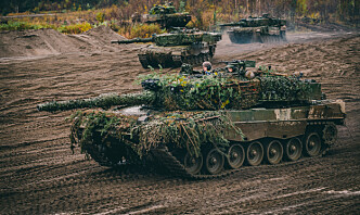 Har sendt ut markedsundersøkelse om stridsvogner
