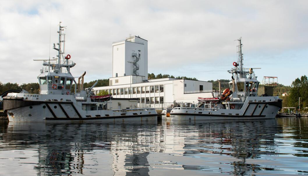 Dykker- og froskemannsenteret ved Haakonsvern Orlogsstasjon.