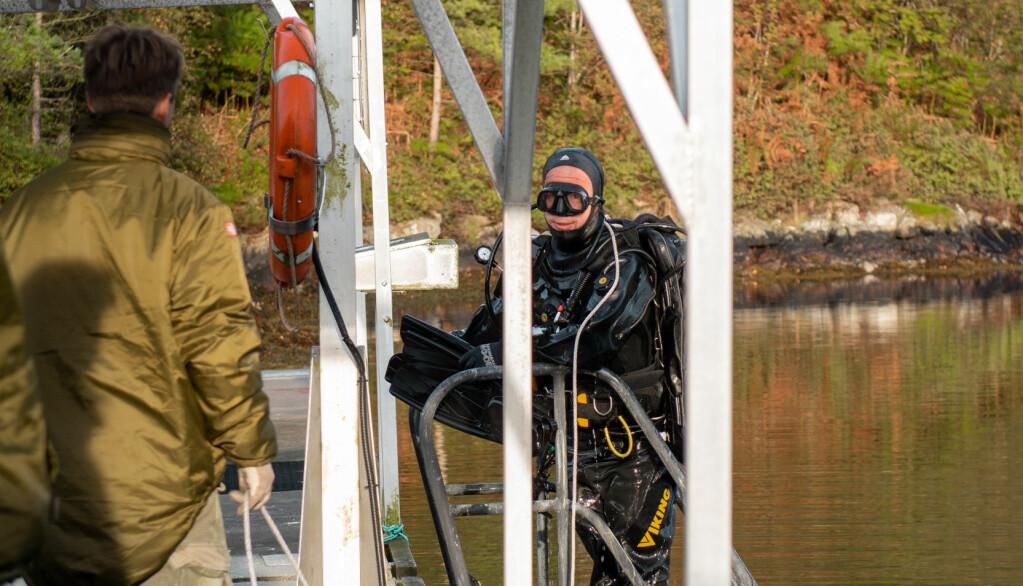Båtoperatørene sørger for sikkerhet ved dykk.