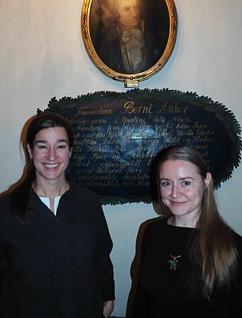 Anja Sletteland (t.h.) og Hannah Helseth.