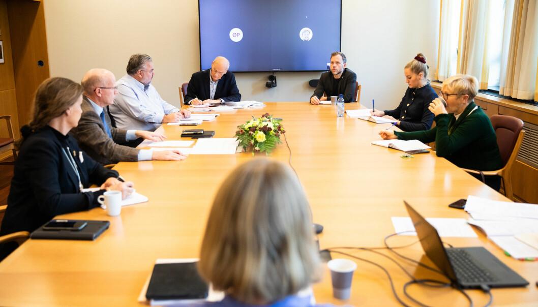 Onsdag 28. oktober var det første forhandlingsmøte om ny langtidsplan.