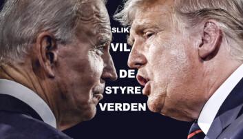 Trump mot Biden: Slik vil de styre verden