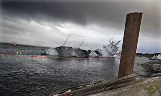 Forsvarsmateriell har landet destruksjonskontrakt for KNM Helge Ingstad