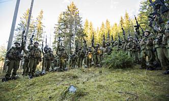 –Sivile stillinger er i Forsvaret for en grunn