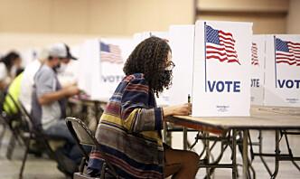 Store deler av USA rammet av robot-samtaler som ba folk holde seg hjemme på valgdagen