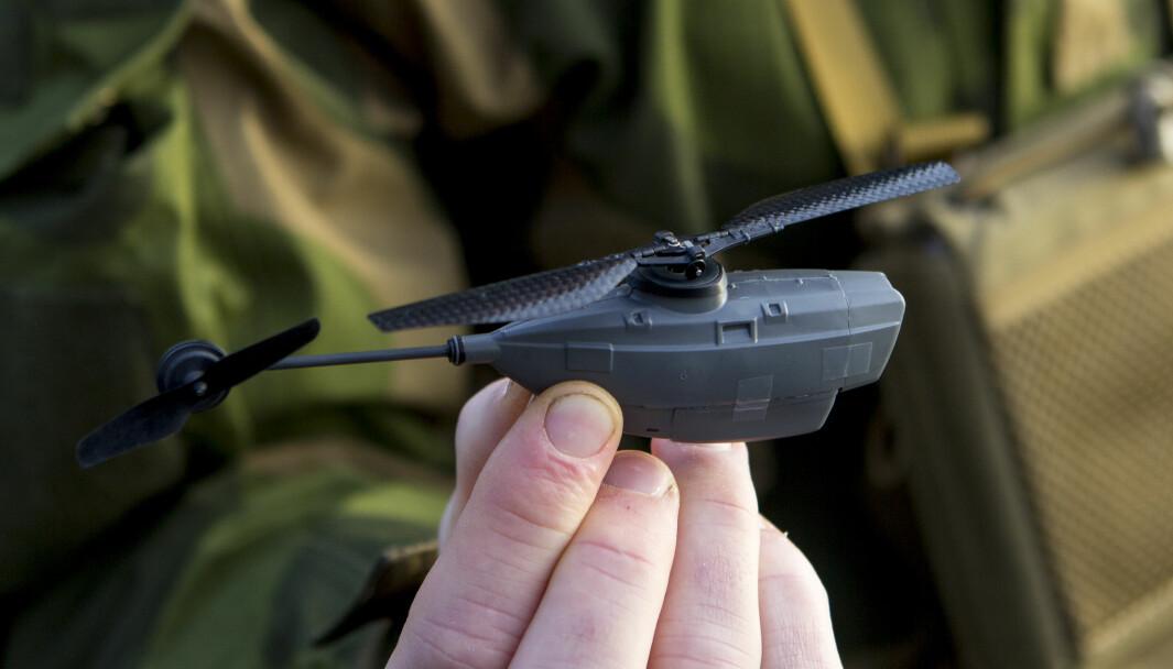 Forsvaret har brukt Black Hornet siden 2015. Nå skal nanodronene også brukes i Heimevernet.