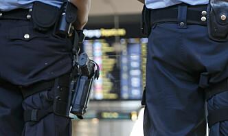 Politiet innfører midlertidig bevæpning på grunn av skjerpet trusselvurdering fra PST