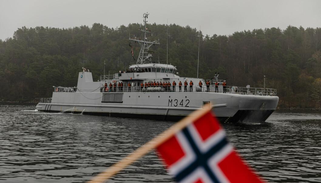 KNM Måløy kom 5. november 2020 hjem fra Nato-oppdrag.