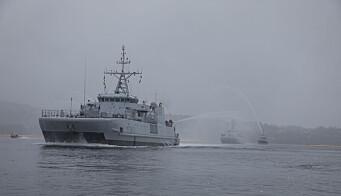 KNM Måløy har vært på Nato-oppdrag siden juli.