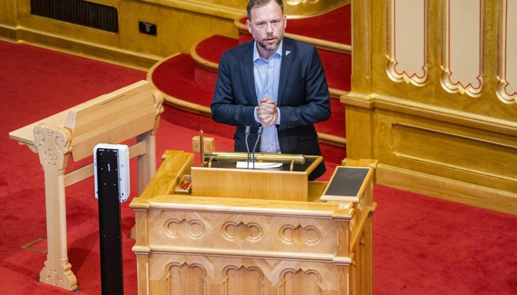 – Vi ønsker ikke mer permanent amerikansk aktivitet i Norge, sier SV-leder Audun Lysbakken til Klassekampen.