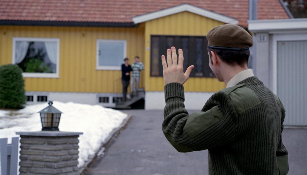 Soldat på permisjon. Bildet er fra 2006.