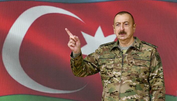 Aserbajdsjans president Ilham Alijev.