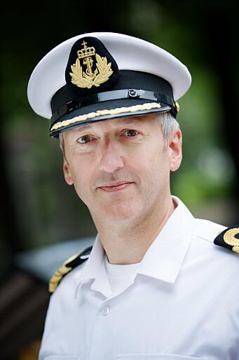 Kommandørkaptein Jarle Heggelund.