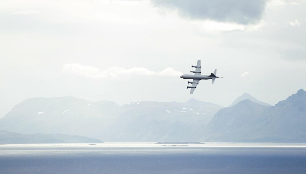 At en oberstløytnant i Luftforsvaret kan tro at Andøya/Evenes-saken dreier seg om en lokaliseringsdebatt av type distriktspolitiske hensyn, er overraskende, skriver Hilde Flobergseter. Her ser vi det maritime overvåkningsflyet Orion P-3N.