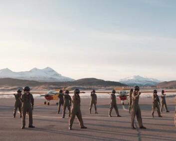 Sjøforsvaret og Luftforsvaret er med i årets BlimE-dans