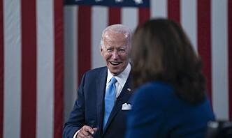 Kina gratulerer Joe Biden