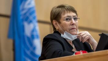Høykommissær Michelle Bachelet.