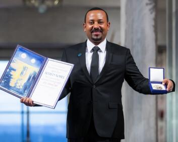 Nok en mottaker av Nobels fredspris har gått til krig