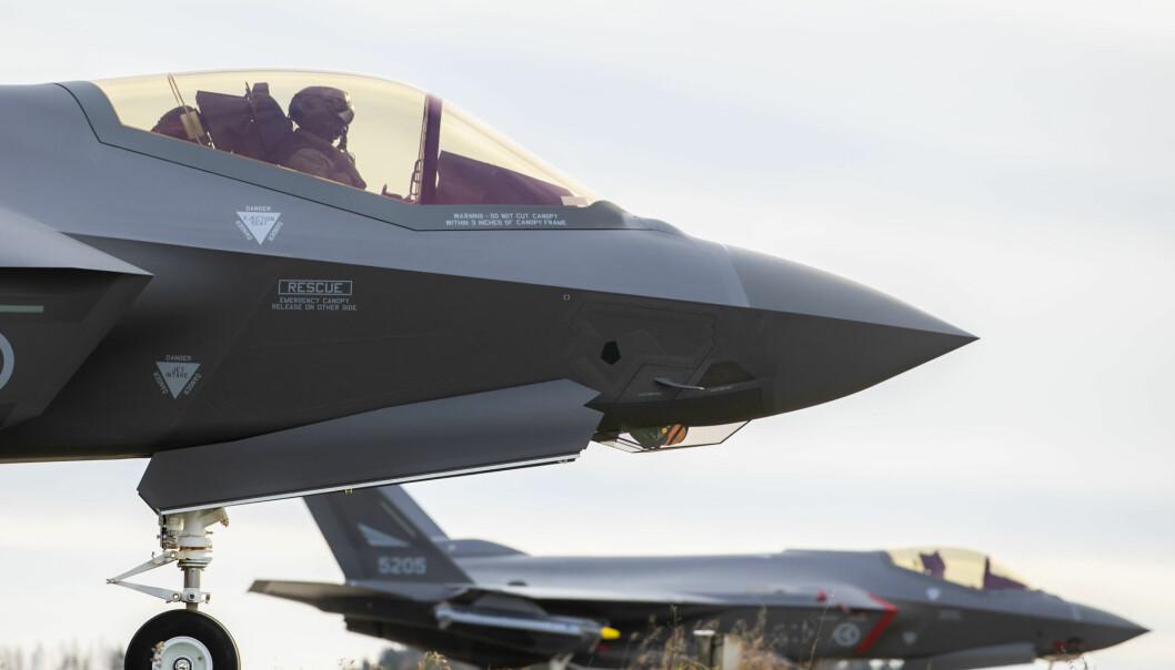 Norge kjøpte i 2016 52 F-35-jagerfly fra USA.