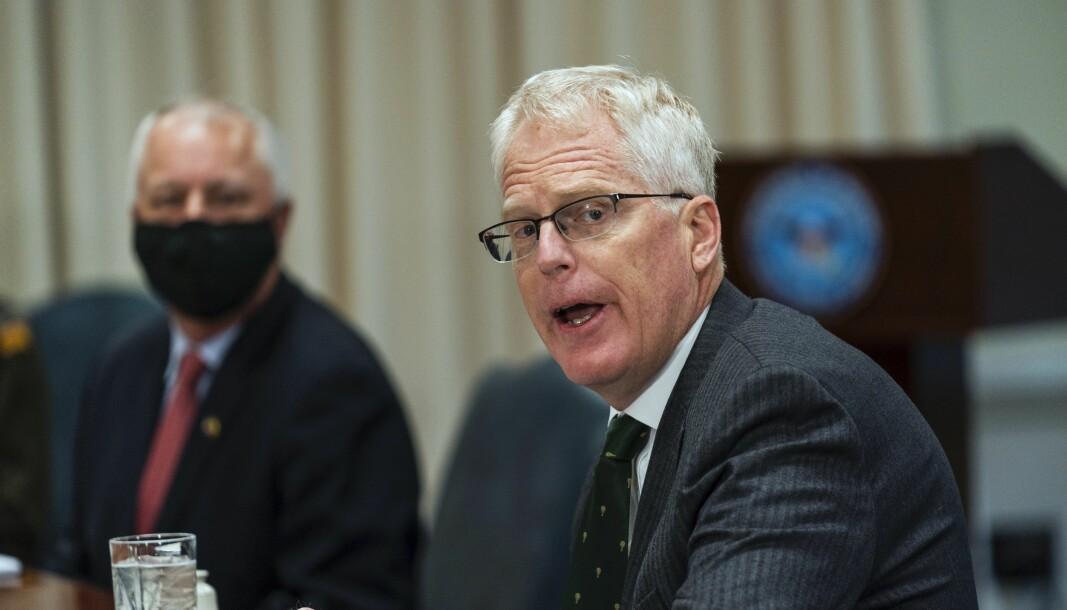 Forsvarsminister Christopher Miller kunngjorde tirsdag tilbaketrekkingen.