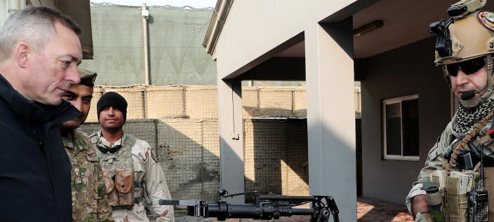 Norge er opptatt av sikkerhet ved amerikansk reduksjon i Afghanistan