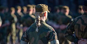 Rekordmange kvinnelige rekrutter i Sjø- og Luftforsvaret