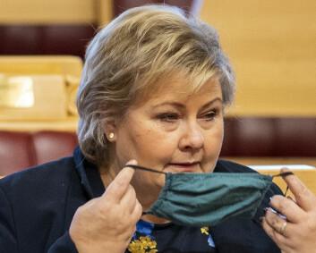 Solberg om spionasjepåstander: Norge i kontakt med Danmark