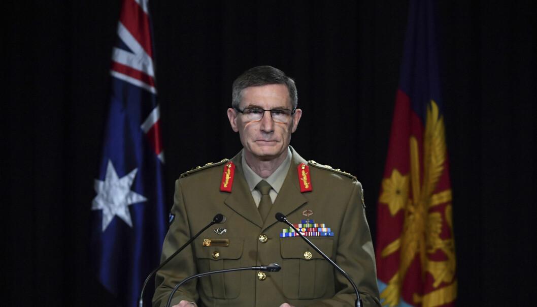 Australias forsvarssjef Angus Campbel besluttet å sparke 13 spesialsoldater