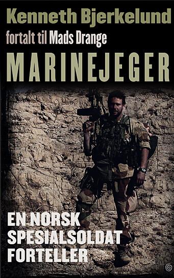 Boken Marinejeger ble utgitt i høst. Foto: Kagge Forlag