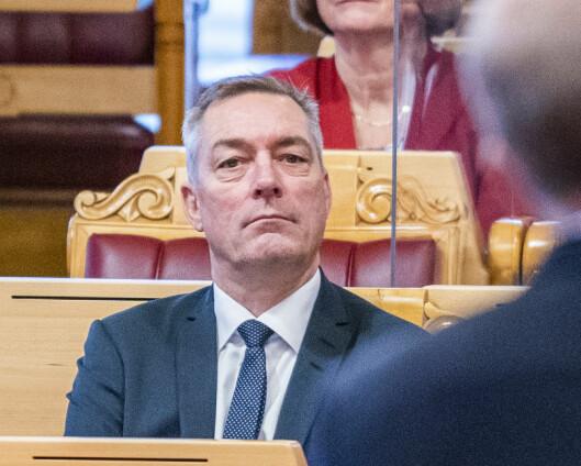 Bakke-Jensen har snakket med den danske forsvarsministeren om spionasjesaken