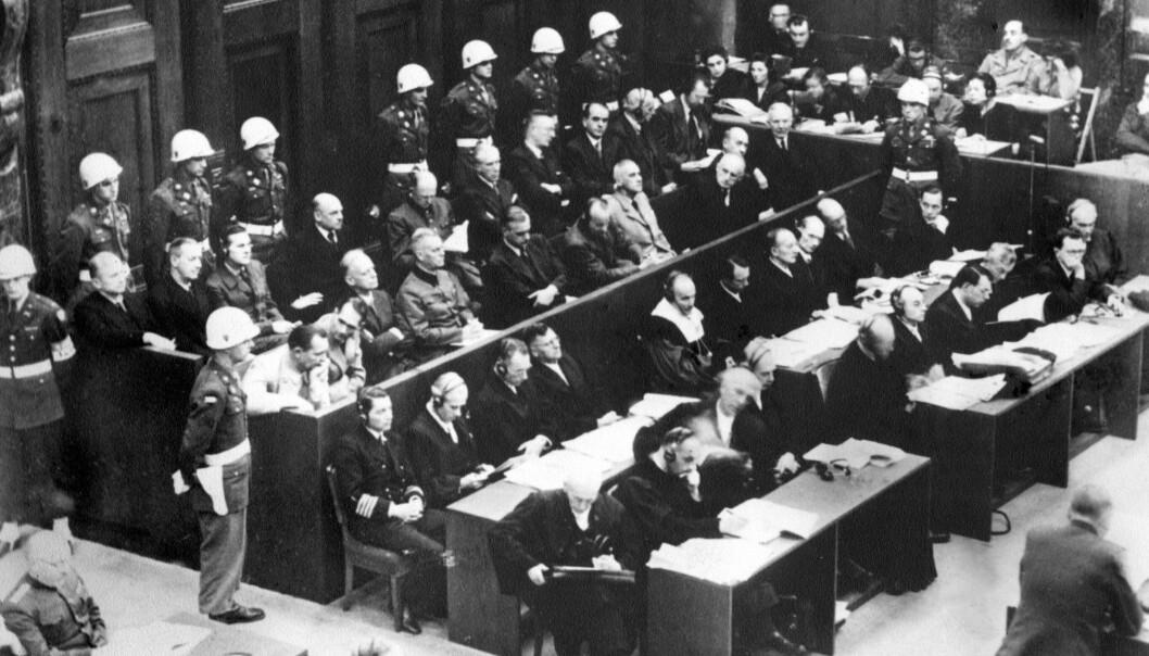 Nürnberg-prosessene startet 20. november 1945.