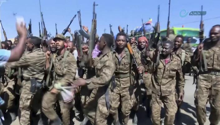 Biletet vart publisert av etiopiske styresmaktar.