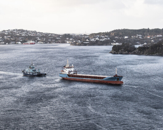 Fregatt ledet redningsaksjon